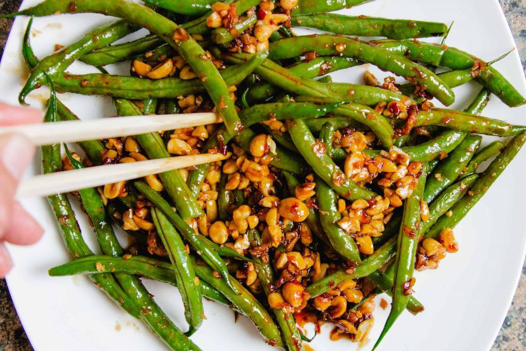 Sweet Sambal Green Beans