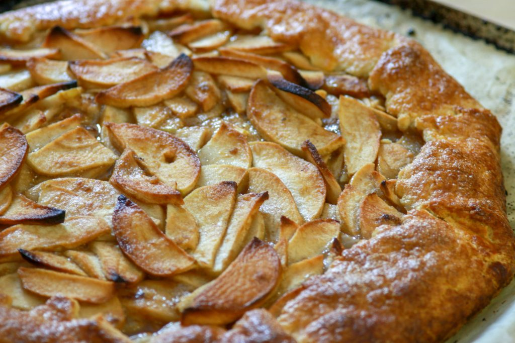 The Easiest Apple Galette