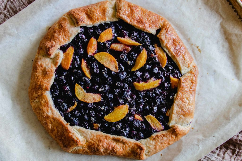 Summer Fruit Galette with Foolproof Pie Dough